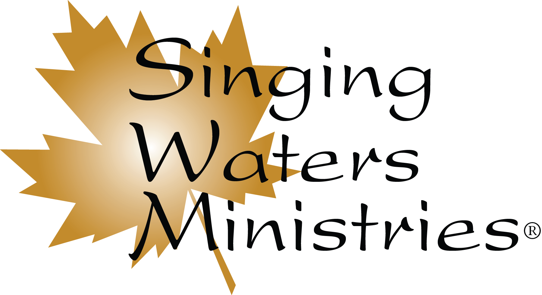 Singing Waters Retina Logo